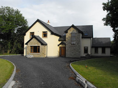 5 bedroom two storey house in caragh project management 2 story house plans ireland