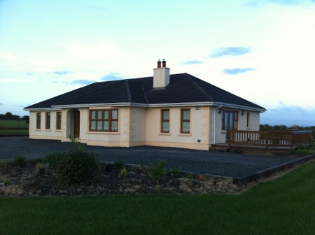 Milltown Bungalow Side Elevation