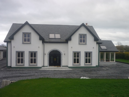 5 bedroom dormer house in birr co offaly project for 4 bedroom house plans ireland