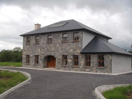 Roscommon Two Storey Front Elevation
