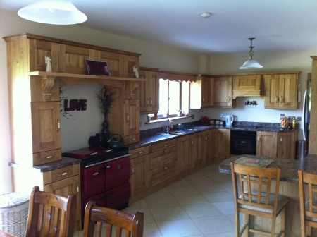 Roscommon Two Storey House Kitchen